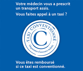 Taxi coventionne medical